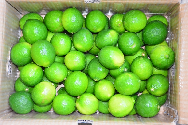 Packaging process of seedless lime