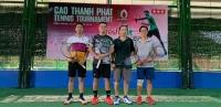 3/12/2019 - Cao Thanh Phat successfully celebrated the 10th anniversary of its founding - combining tennis tournament in the southern region
